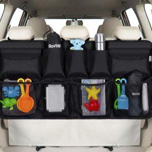 Organizador de maletero para coche ajustable