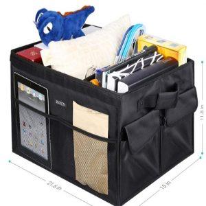 Organizador de maletero para coche con velcro