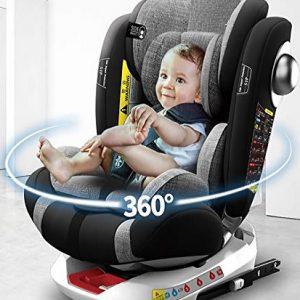 Sillas de coche del grupo 1 rotación 360