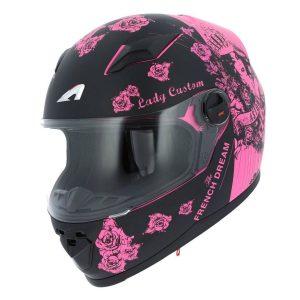 Casco de moto de mujer integral