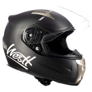 Casco de moto integral scooter