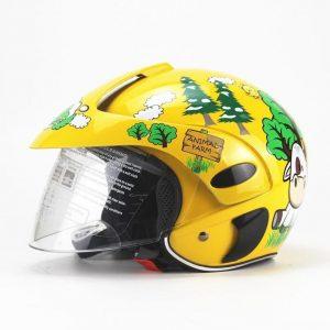 Casco de moto para niño ecológico