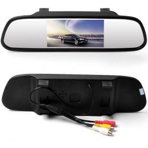 Espejo retrovisor con cámara y pantalla LCD