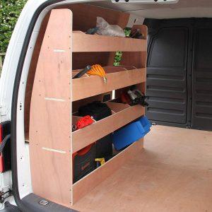 Estantería para furgonetas con 24 compartimentos