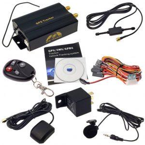 Localizador gps para coche con mando a distancia
