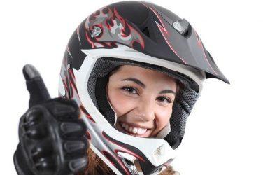 Cascos de moto de mujer