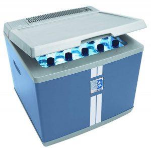 Nevera termoeléctrica para furgonetas azul