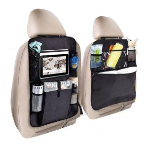 Organizador de asientos para coche de alta capacidad