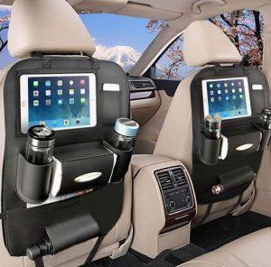 Organizador de asientos para coche multifuncional