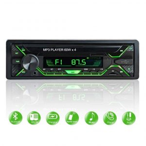 Radio cd para coche con pantalla LED