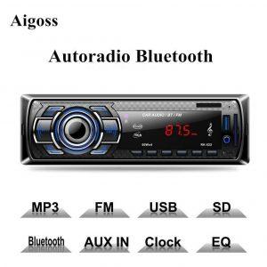 Radio cd para coche manos libres