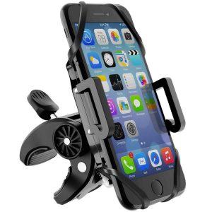 Soporte de móvil para motos estable