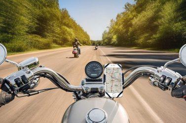 Tipos de soportes de móvil para motos y cuál necesitas